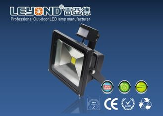China High Brightness conventional 30w Led Flood Light With PIR Sensor,rapid response lighting supplier
