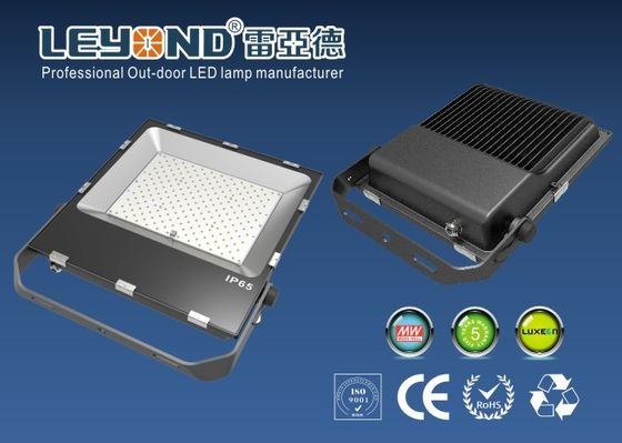 China IP66 rated 3030 Lumileds Luxeon  Chips Waterproof LED Flood Lights 200W Black Housing  &PC Lens and 150-180lm/w supplier