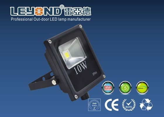 China Slim Line Waterproof LED Flood Lights 10W Allumium Housing IP65 Protection Outdoor lights supplier
