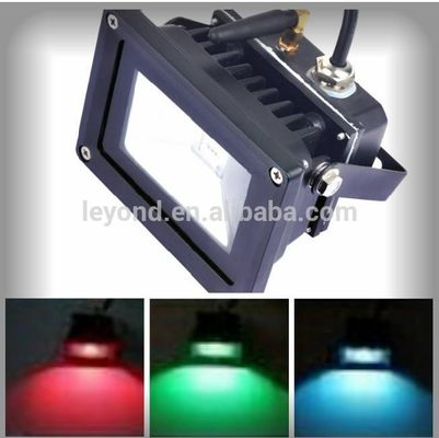 China Outdoor Color Changing High Power LED Flood Light , 120 Degree Led Rgb Flood Light supplier