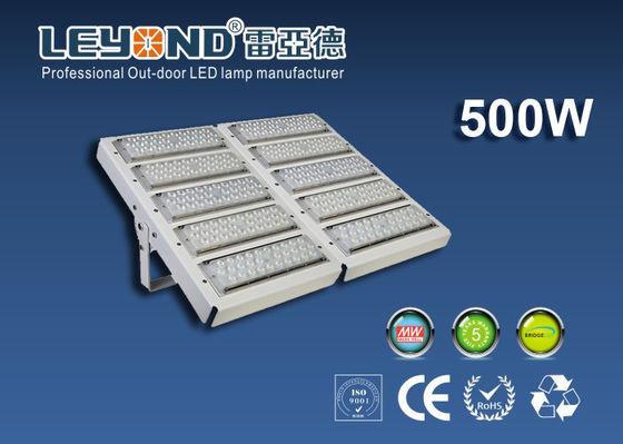 China Outside 500w High Power Led Flood Light Waterproof 120 Lm / W 5 Years Guarantee supplier