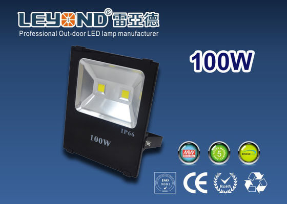 China 2800 - 6500k 100 Lm / W Waterproof Led Flood Lights 150w 200w supplier