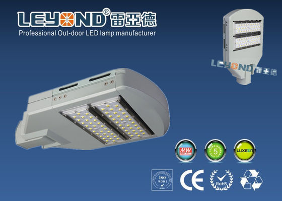 China Solar 80W Outdoor Street Lights For High Way / Bridgelux Energy Saving Street Lighting supplier