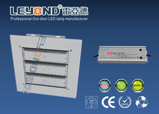 China 50-150w Pure White Waterproof canopy led lights With Meanwell /   Driver supplier