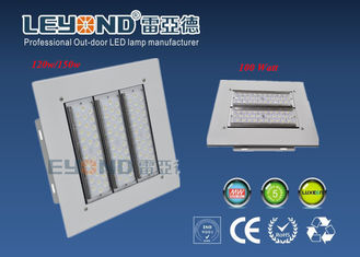 China Square Parking 160lm/w Led Canopy Lights IP66 130w Gas Station Light supplier