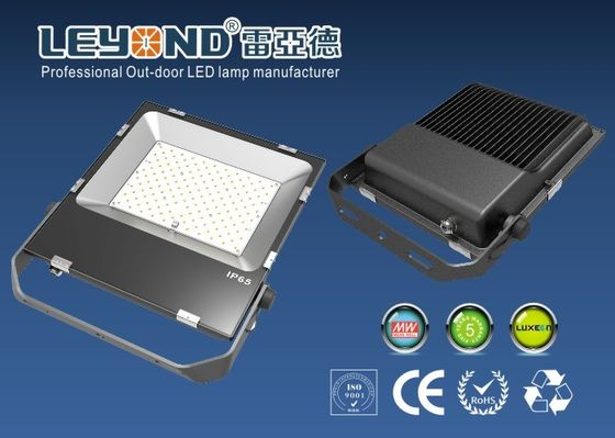 China RoHS white SMD 150W Outdoor LED Flood Lights warm white led flood light / Aluminum yard flood lights supplier