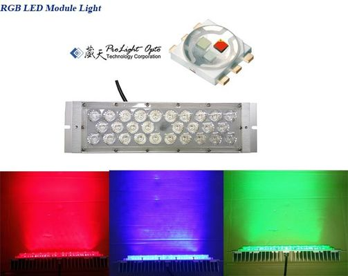 China Multicolor LED Module 35W Rgb Led Flood Light Module Outdoor Led Christmas Lights supplier