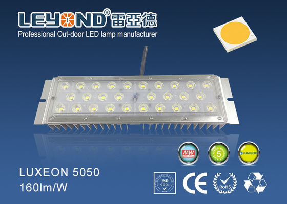 China New Aluminum heatsink 170lm/w LED Street Light Module light 50w with 5 years warranty supplier