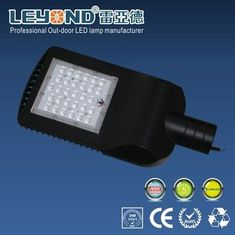 China 60 Watt Energy Saving LED Street Light Die Casting Aluminium Housing Black and Grey supplier