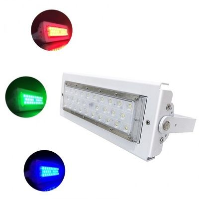 China RGB Driver IP65 Outdoor LED Flood Lights 50w Reflector Module Design White Housing supplier