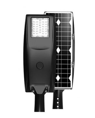 160Lm/W high efficiency 30W Solar LED street light for roadway lighting fixture.