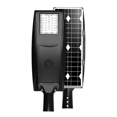 China Smart Control Solar LED Street Light All In One Wireless Installation 6000K CCT supplier