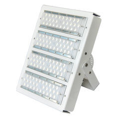 China White Housing Modular Design Exterior Led Flood Lights For Stadium 100w-500 High Efficiency 160lm/W supplier