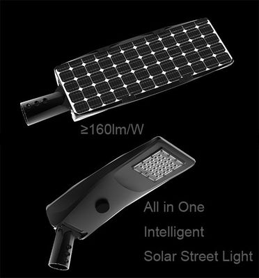 China 40W Solar LED Street Light 20Ah Battery For Over 12 Hours Working Time supplier