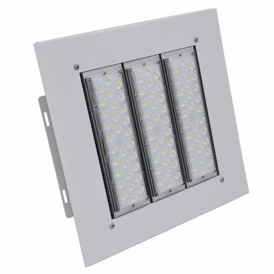 China Gas Station Canopy Led Lights 100w 150w 200w IP66 IK10 Recessed Installation supplier