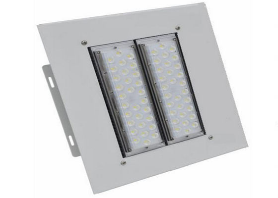 China Outdoor LED Canopy Lights IP66 100w Wide Beam Angle Aluminum Lamp Body 5 Years Warranty supplier