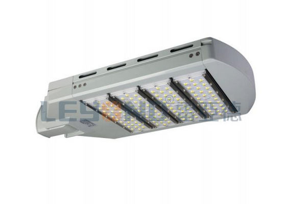 120w IP65 Dimmable Led Street Lights Outdoor Meanwell Driver 50000hrs Lifespan