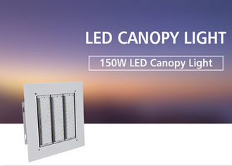 China Outdoor LED Canopy Lights IP66 150w Wide Beam Angle Aluminum Lamp 5 Years Warranty supplier