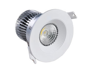 China Anti-glare exhibition hall 5000k LED recessed downlight dimmable of  Aluminum + PMMA supplier
