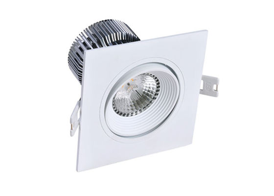 China Recessed dimmable LED DownLight , 12 W 240Volt Cree COB LED ceiling down light supplier
