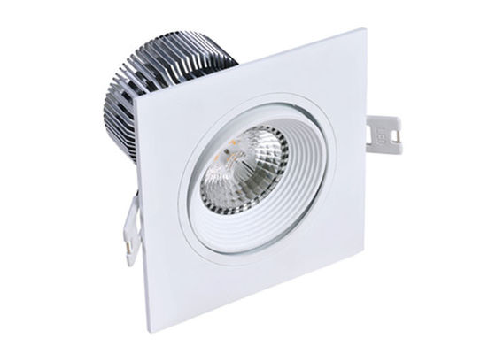 China 15W Square dimmable led recessed downlights of Cree COB LED Chip inside supplier