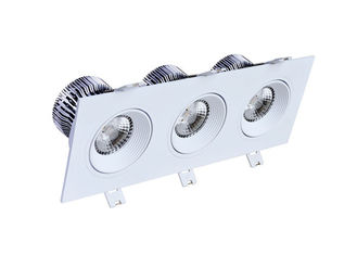 China Cree COB 12x3W 3500LM Square LED bathroom downlights OF Aluminum+PMMA supplier