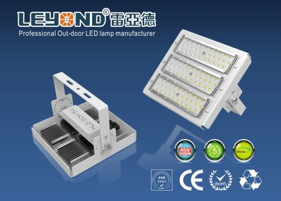 China Gas Station Lighting Bridgelux /  Chips 150 Lm / W LED Modular High Power Flood Light Rectangle distributor