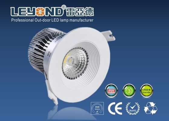 China Anti-glare Cree LED Down Light 15W White/Sliver Housing Color For Hotel Application factory