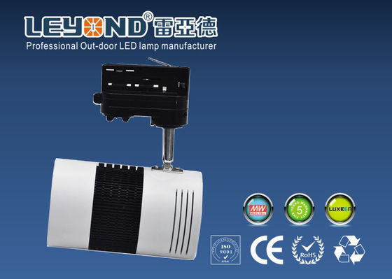 China Pure White 5000k Cree COB Led Track Lights 30 Watt 60 / 90D Beam Angle Anti Glare factory