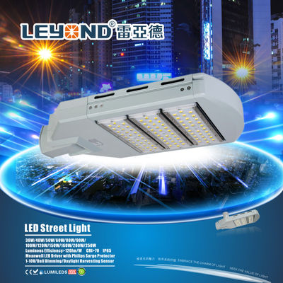 China 150w 130lm/W LED Street Lighting IP65 Full Waterproof For High Way / Long Life Span factory