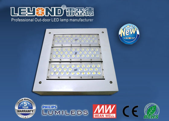 China High Brightness 100w LED Canopy Lights Led Gas Station Recessed and Surface Mounting factory