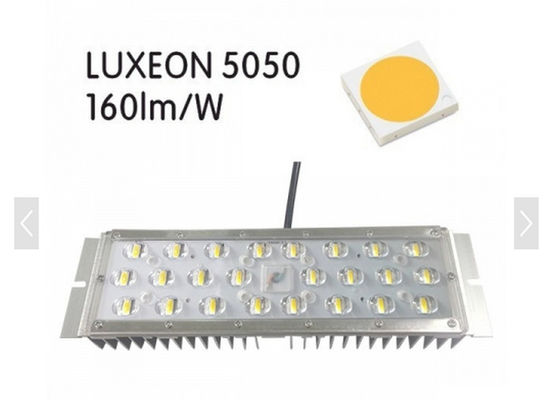 China Energy Saving 150lm / W LED Street light module 30w 50w led module light With Aluminum / PC Body , 5 Years Warranty factory