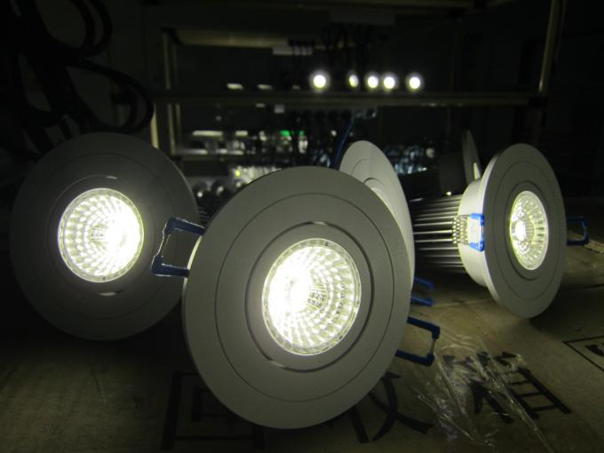 Warm White LED Down Light 5 Watts COB Chips With Anti-Glare Lens