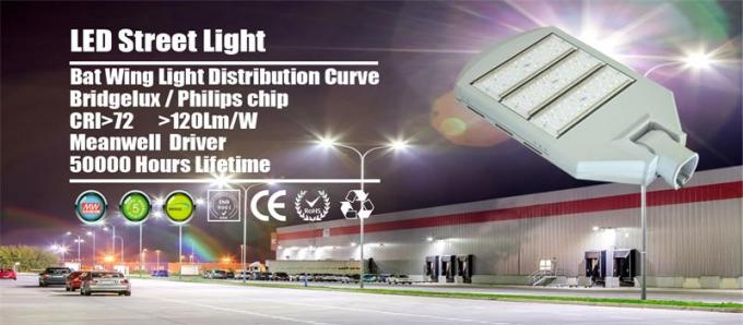 Zigbee sensor control LED Street Lighting High Effciency Meanwell Driver