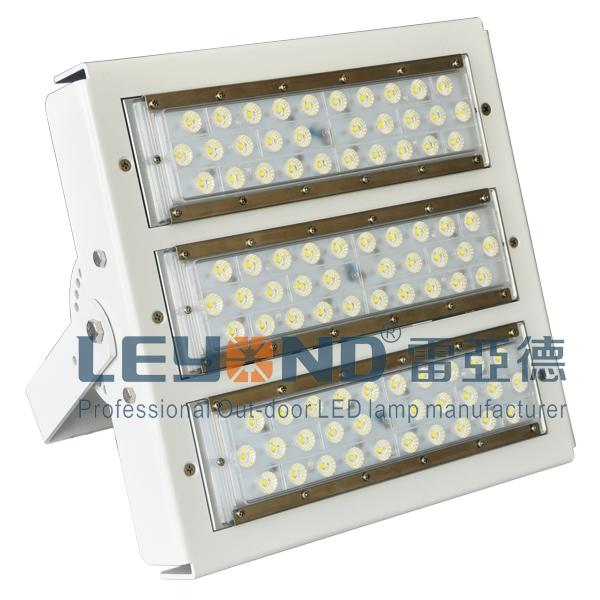 160lm/W Excellent Heat Dissipation 150W Modualr LED Flood Light IP66 Rated Available for Outdoor Application
