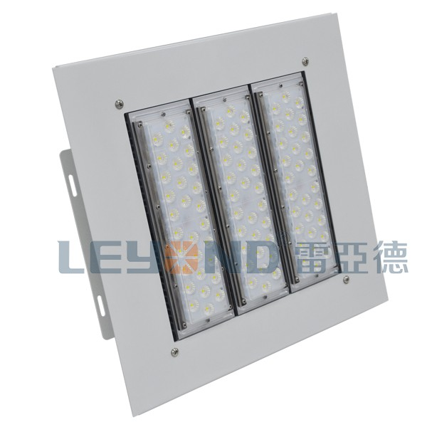 160LM/W Factory Price LED Canopy Light for Petrol/Gas Station 5 Years Warranty