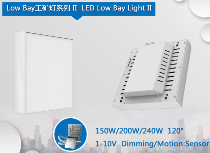 Osram 3030 Chip Led Low Bay Warehouse Lighting 240w 120lm/w Lamp Luminous Efficiency