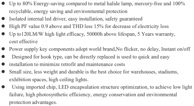 UFO LED High Bay Light Outdoor IP65 240w Aluminum Lamp Body 50000hrs Lifespan