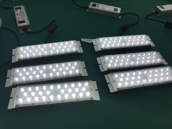 White Housing Modular Design Exterior Led Flood Lights For Stadium 100w-500 High Efficiency 160lm/W