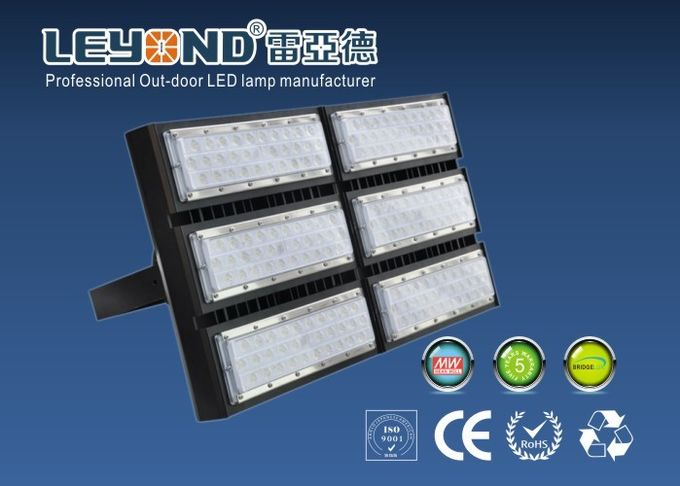 300W 400W 500W LED Flood Lamps Outdoor Dimmable 120 Lm / W For Sport Court , Long Lifespan
