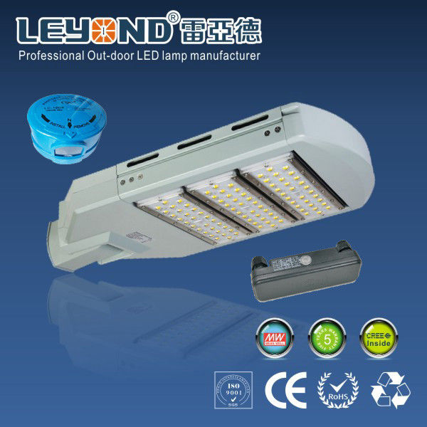 80 Watt LED Street Lighting Waterproof With Meanwell HLG Driver , CE ROHS Approved